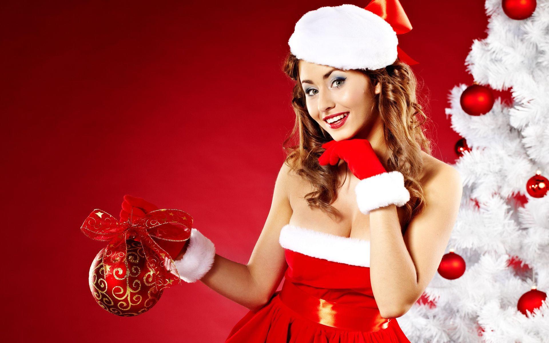 фото красивых девушек в костюме снегурочки твоя