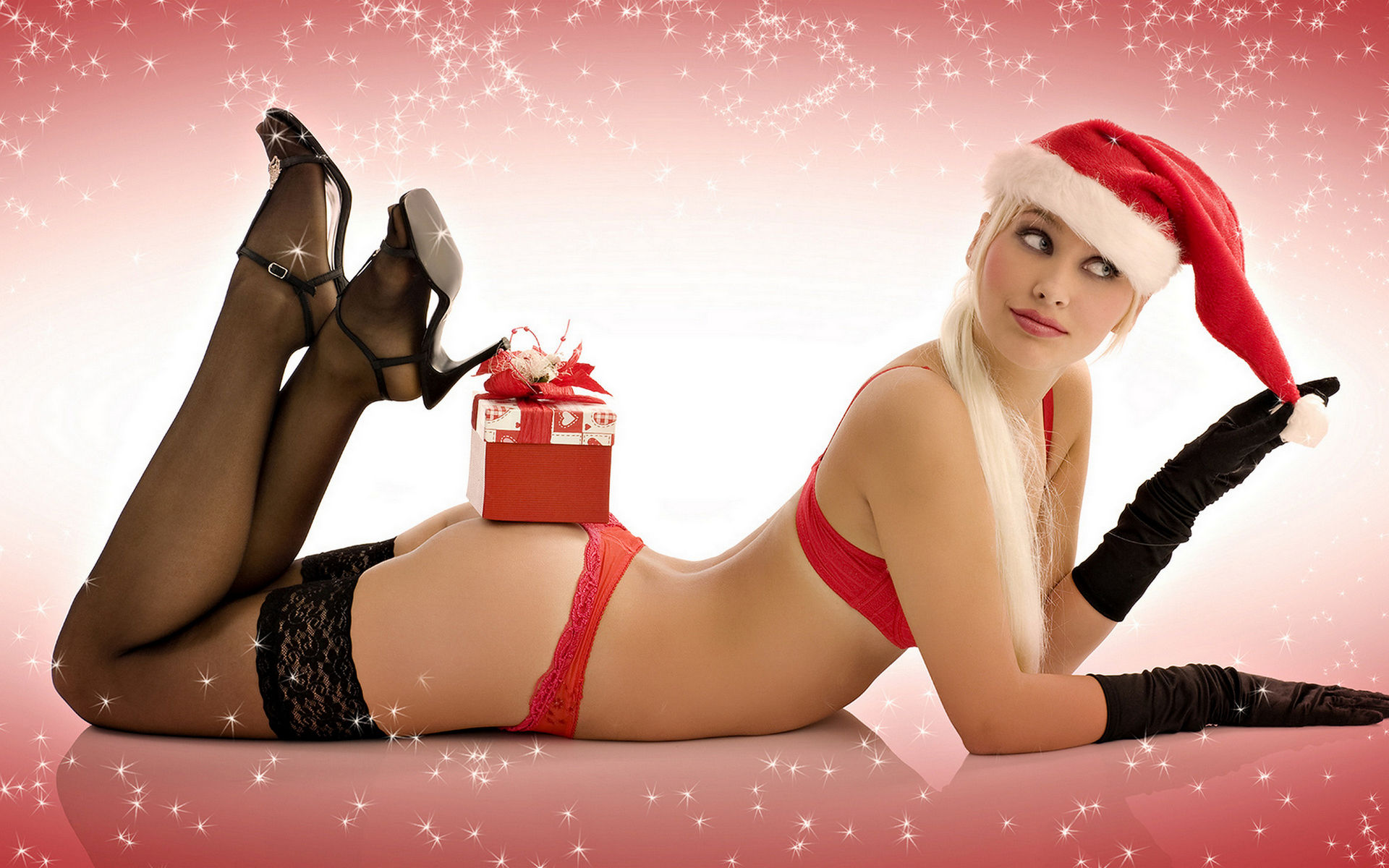 Santa fuck nude girl erotic streaming