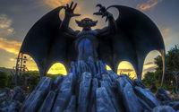 Статуя - Демон летучая мышь