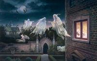 Призраки летают у окна