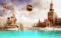 Москва в фантастическом будущем