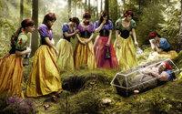 Семь Белоснежек и гном в стекляном гробу
