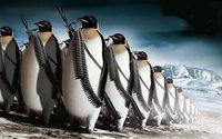 Армия вооруженных пингвинов в Арктике