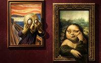 Эдвард Мунк, Крик и Мона Лиза, Леонардо да Винчи