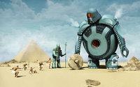 Инопланетяне-роботы обучают египтян