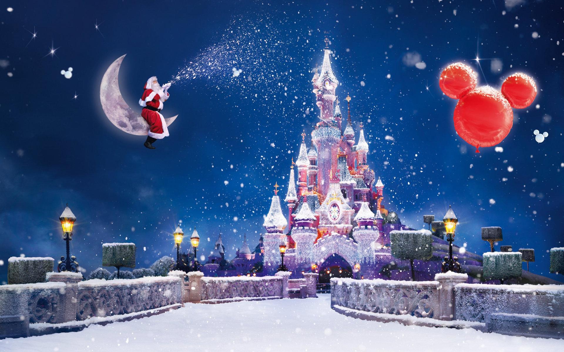 Санта Клаус и Новогодний Диснейленд
