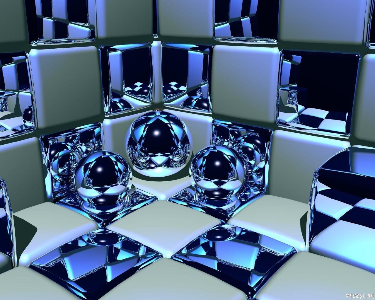 Фото 14.. Нажмите на картинку с 3D обоями, чтобы просмотреть ее в реальном размере