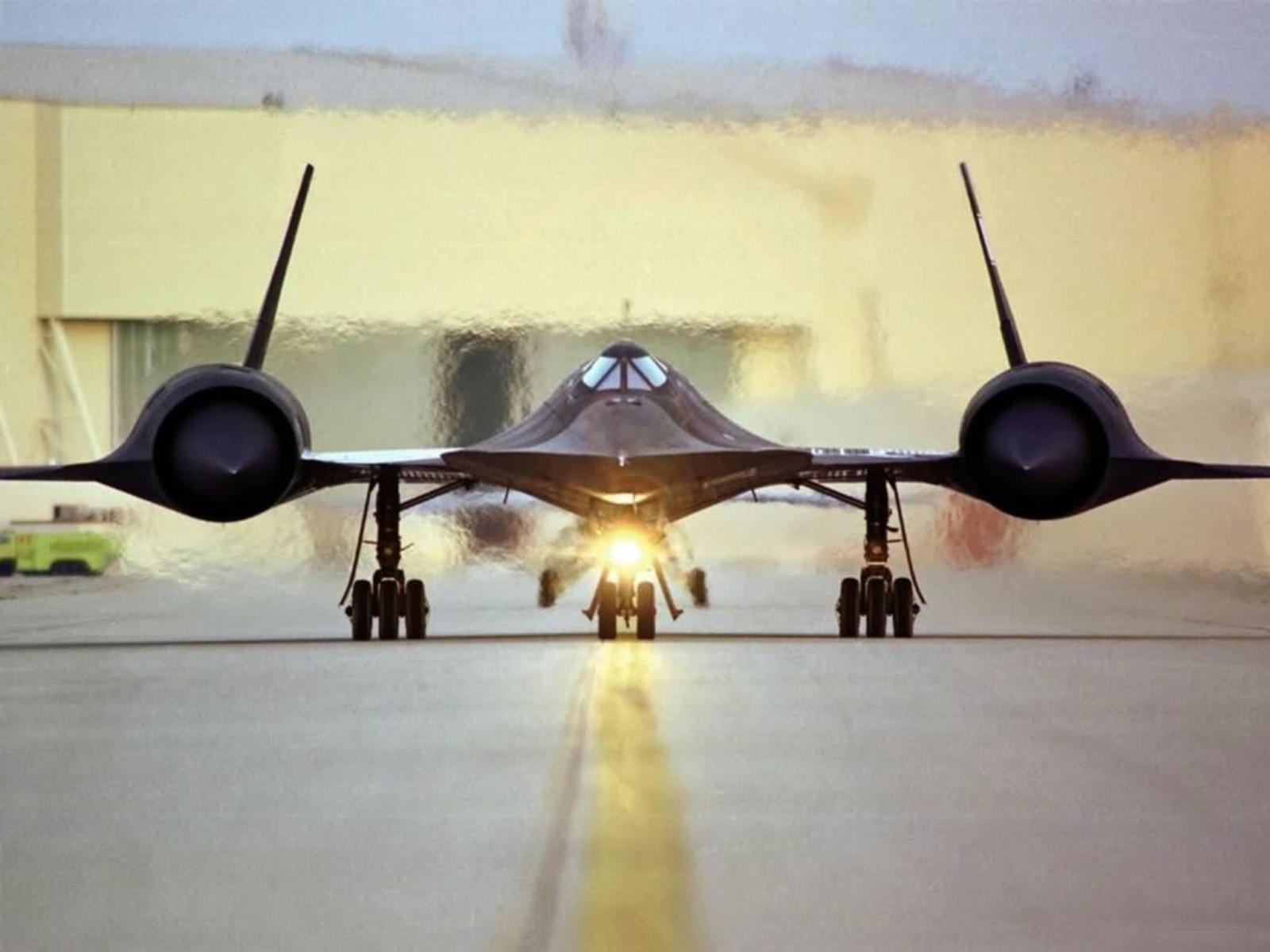 Lockheed SR-71 сверхзвуковой самолёт Blackbird