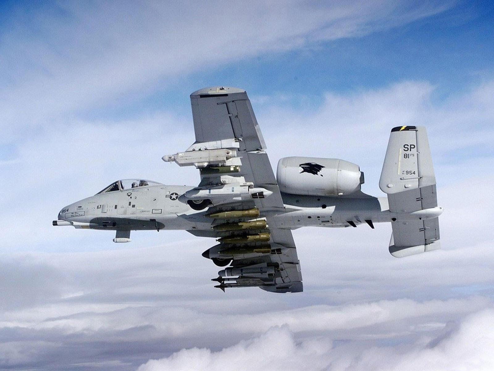 Самолёт A-10 Thunderbolt II