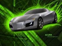 Авто Акура на картинке. Обои с автомобилями Acura