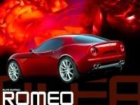Красивая автомашина Alfa Romeo на фотографии. Обои с автомобилями Alfa Romeo
