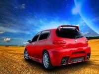 Фотография автомашины Альфа Ромео. Обои с автомобилями Alfa Romeo