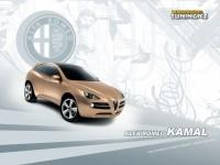 Изящный автомобиль Alfa Romeo на обои. Обои с автомобилями Alfa Romeo