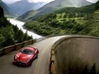 Роскошная автомашина Альфа Ромео на обои. Обои с автомобилями Alfa Romeo