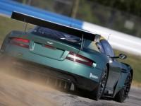 Изящная автомашина Aston Martin на фотообои. Обои с автомобилями Aston Martin