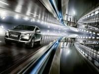 Автомобиль Audi на отличной фотообои. Обои с автомобилями Audi