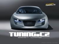 Audi на замечательной картинке. Обои с автомобилями Audi