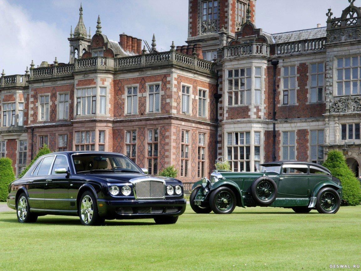 Bentley на великолепной картинке, Нажмите на картинку с обоями автомобиля bentley, чтобы просмотреть ее в реальном размере