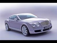 Машина Bentley на классной фотообои. Обои с автомобилями Bentley