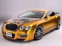 Автомобиль Бентли на фотообои. Обои с автомобилями Bentley