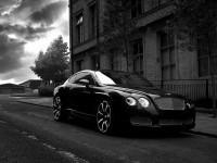 Изящное авто Бентли на фотографии. Обои с автомобилями Bentley