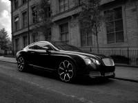 Машина Бентли на замечательной картинке. Обои с автомобилями Bentley