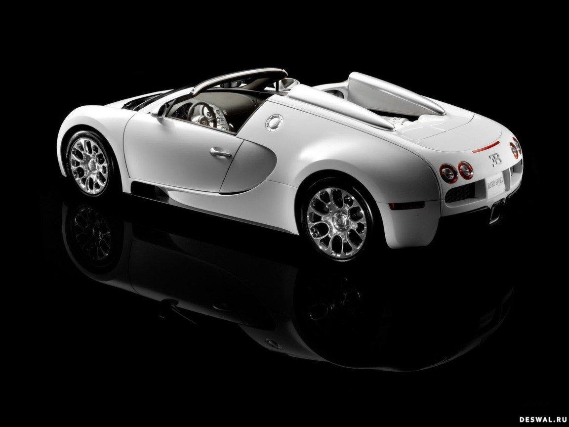 Машина Bugatti на классной фотообои, Нажмите на картинку с обоями автомобиля bugatti, чтобы просмотреть ее в реальном размере