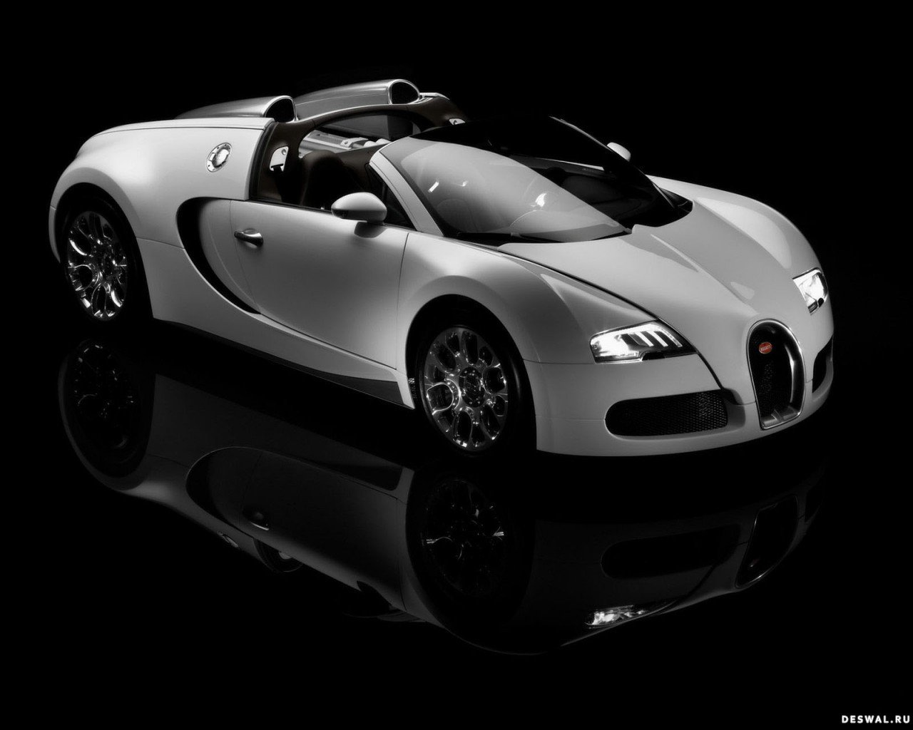 Машина Бугатти на бесплатной картинке, Нажмите на картинку с обоями автомобиля bugatti, чтобы просмотреть ее в реальном размере