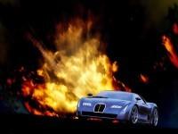 Машина Бугатти на хорошей картинке. Обои с автомобилями Bugatti