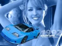 Авто Bugatti на качественной картинке. Обои с автомобилями Bugatti