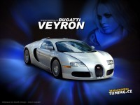 Авто Bugatti на хорошей обои. Обои с автомобилями Bugatti