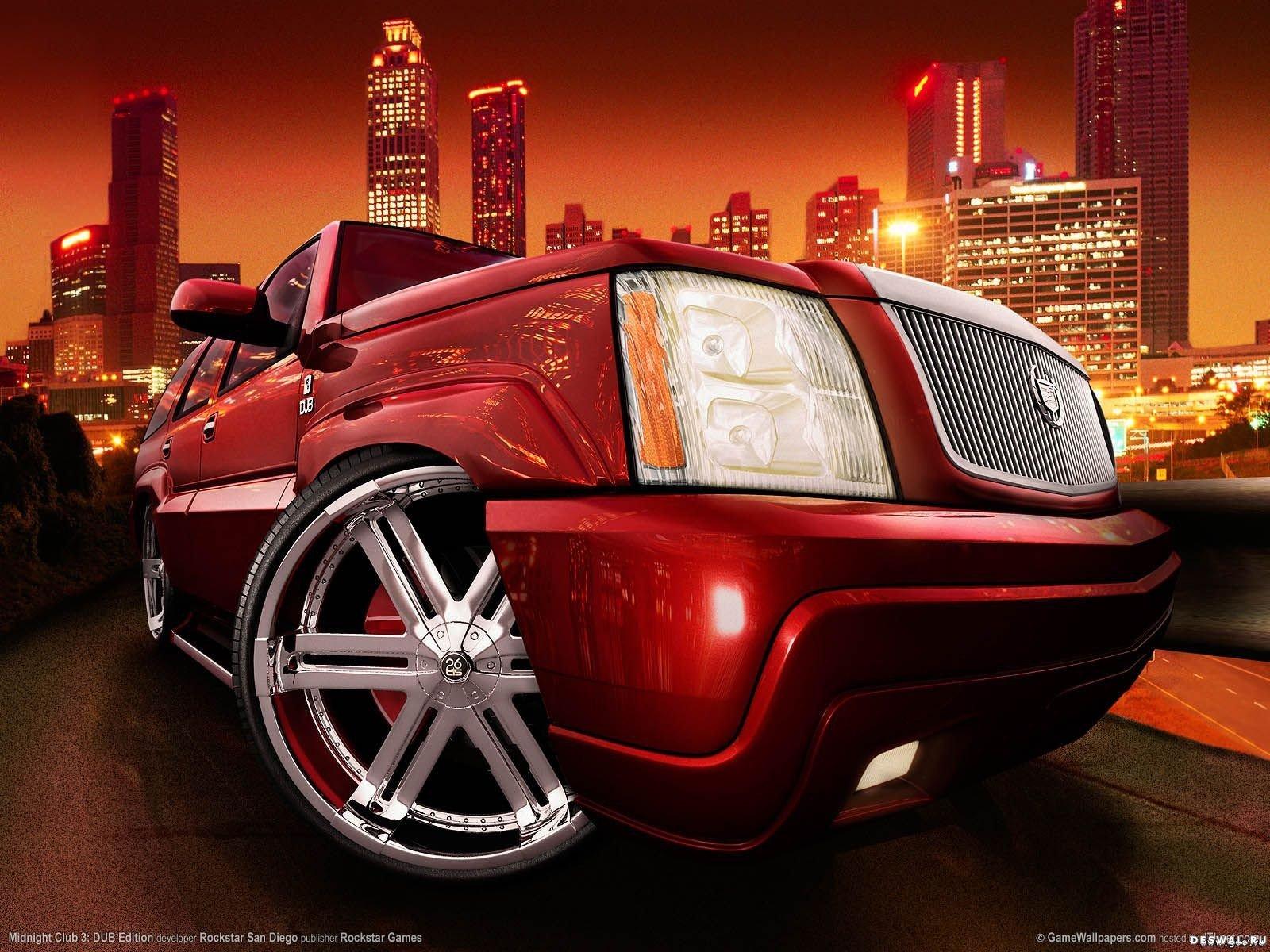 Автомобиль Cadillac на бесплатной фотообои, Нажмите на картинку с обоями автомобиля cadillac, чтобы просмотреть ее в реальном размере