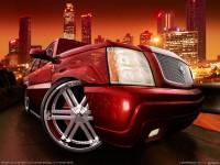 Автомобиль Cadillac на бесплатной фотообои. Обои с автомобилями Cadillac