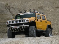 Красивое авто Hummer на картинке. Обои с автомобилями Hummer