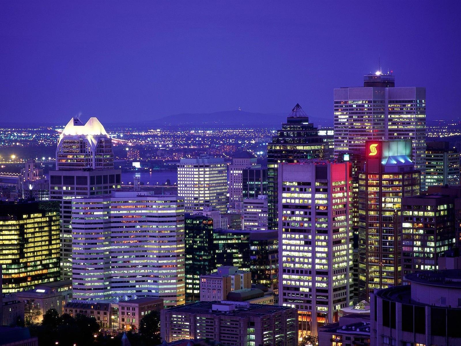 Городские огни Монреаля