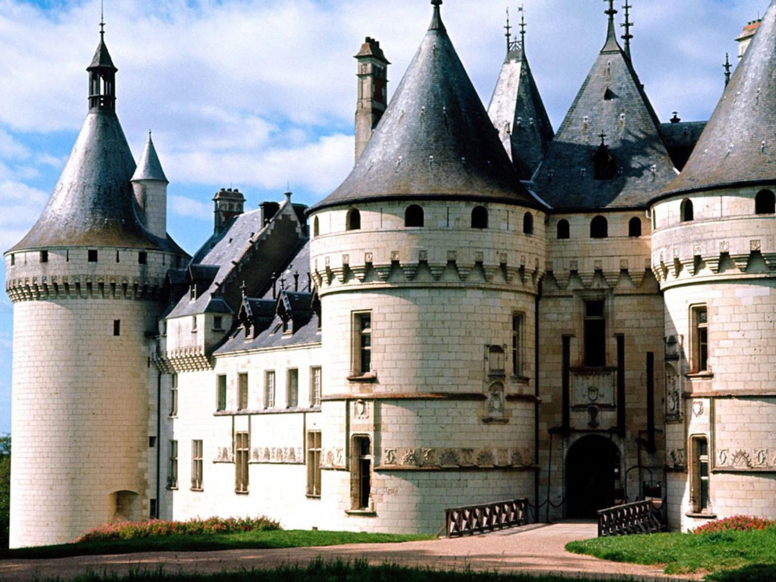 Замок Шомон, Франция