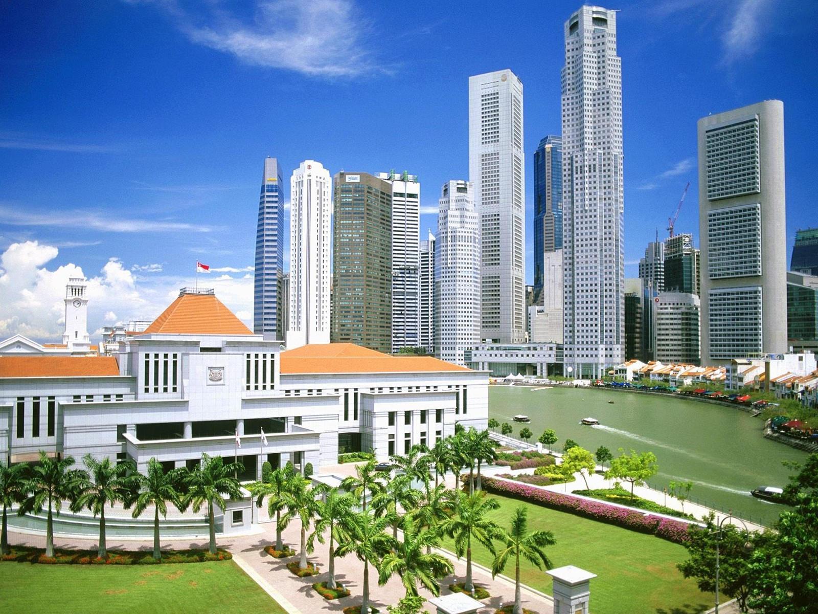 Сингапурские небоскребы