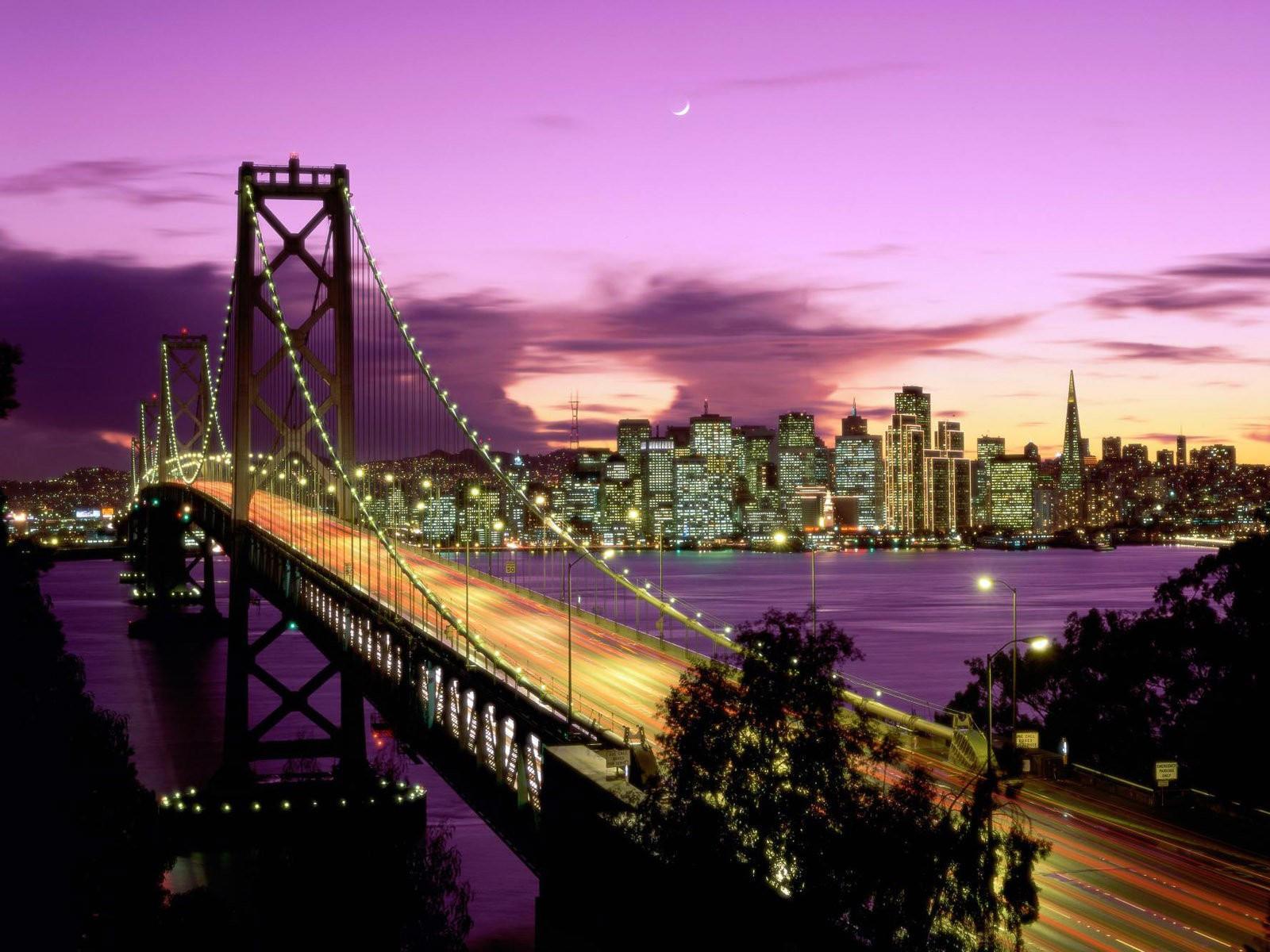 Мост залива Сан-Франциска, Калифорния