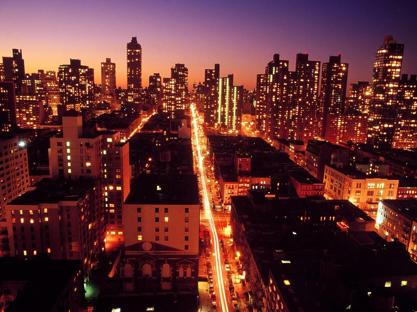ночной нью йорк картинки