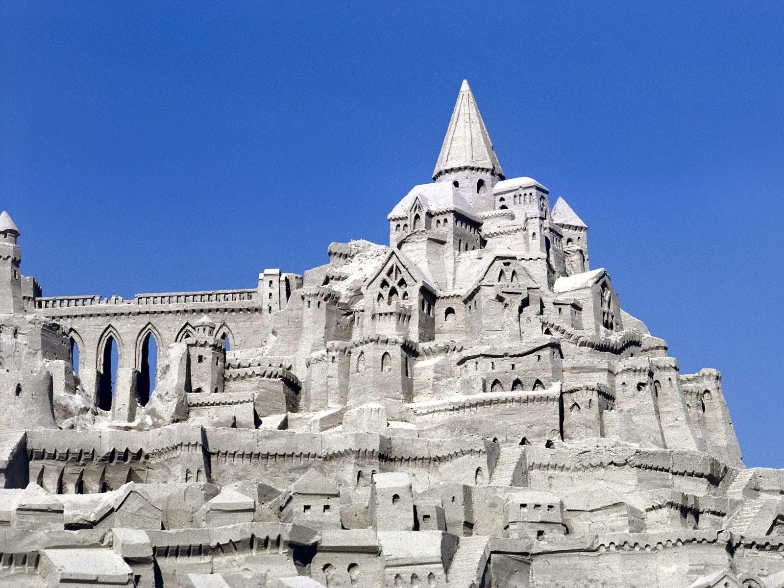Каменный замок в Сан-Диего