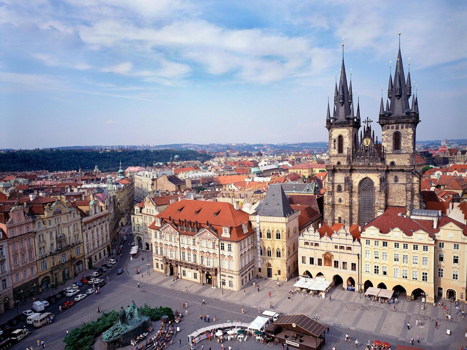 Староместская площадь Прага, Чехия