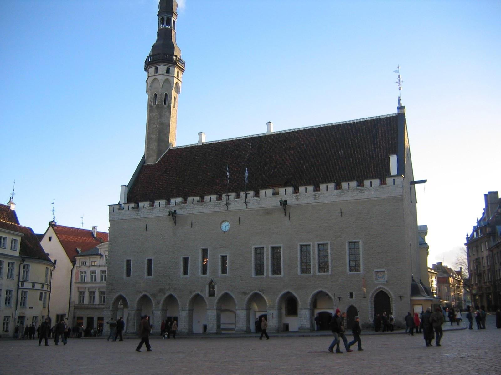 Таллиннская ратуша