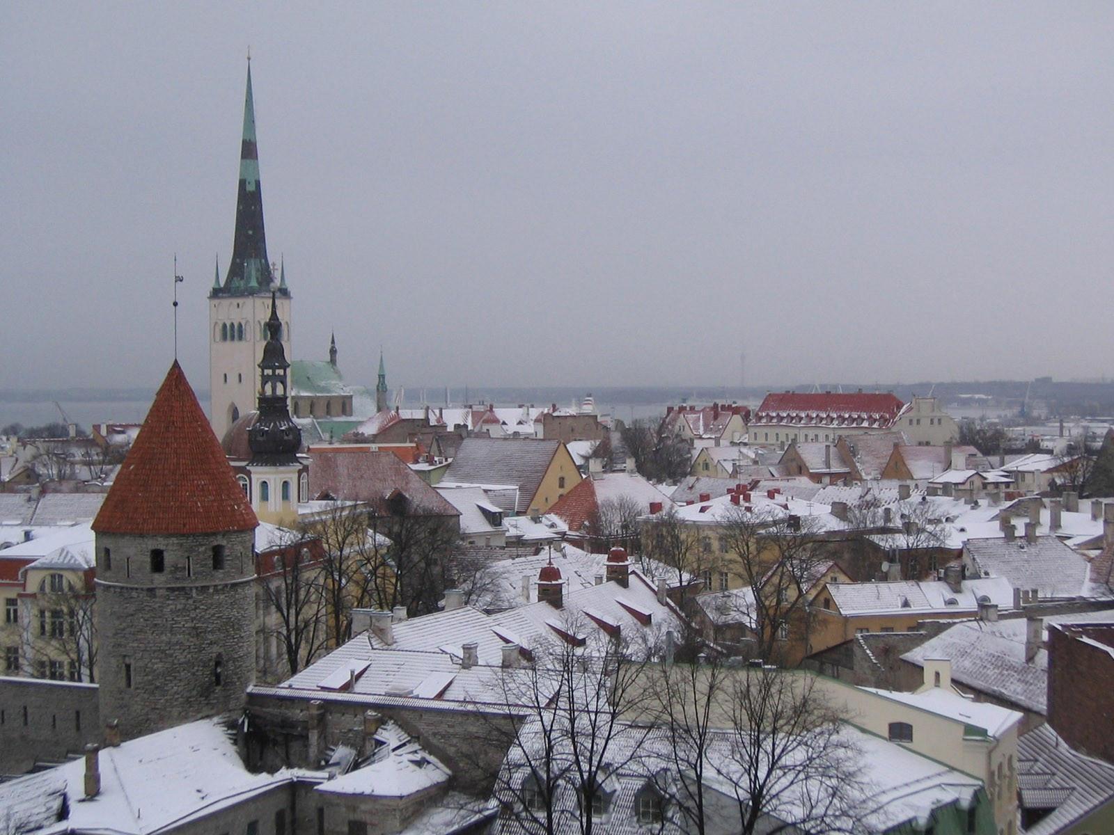 Таллинн зимой