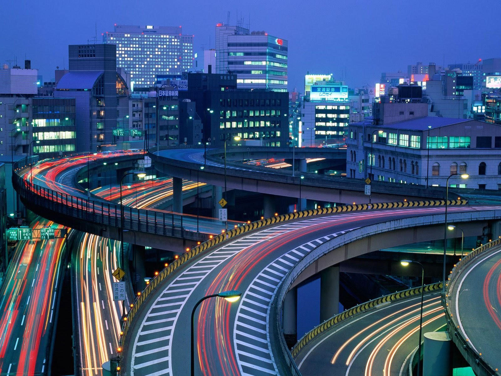 Токио, Япония ночь