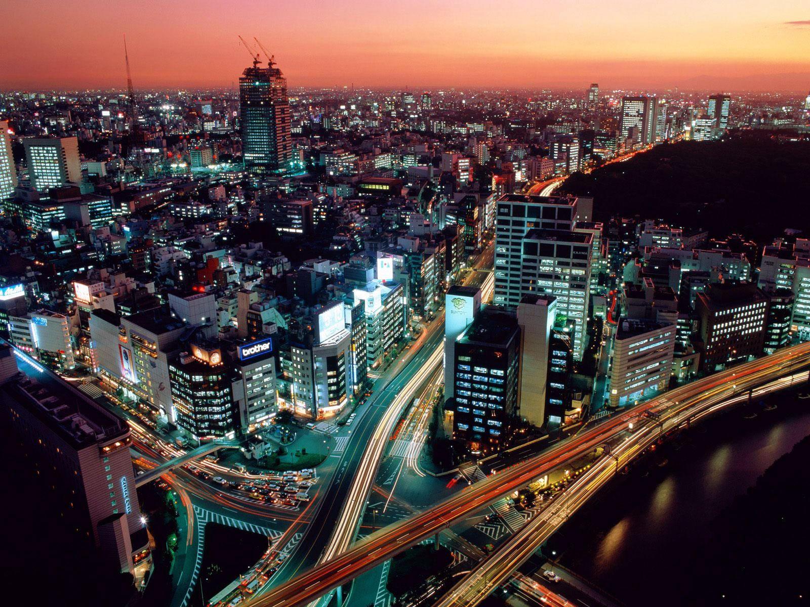 Токио в сумерках, Япония