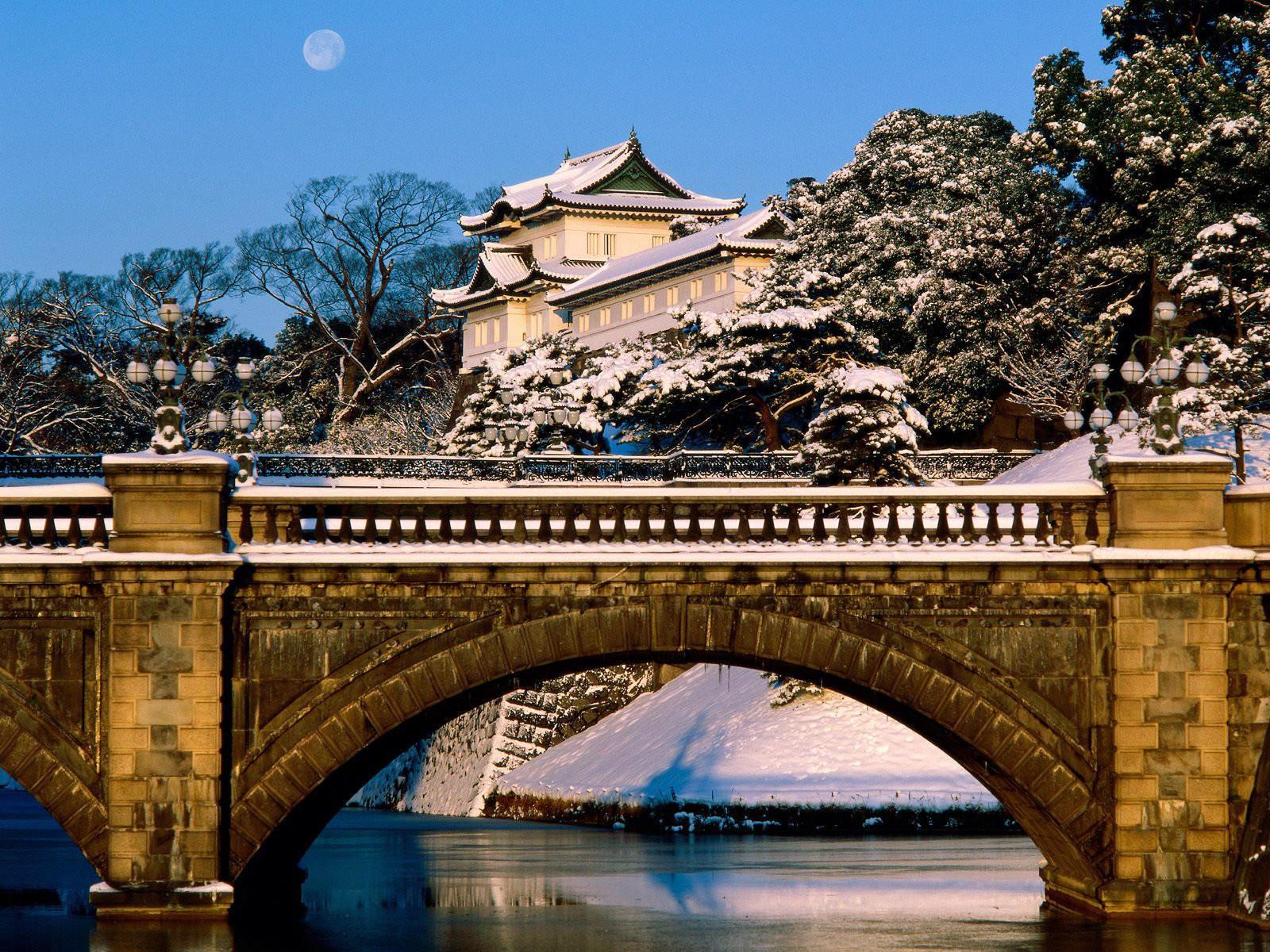 Императорский дворец Токио, Япония