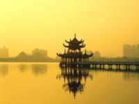 Беседка на воде, Китай