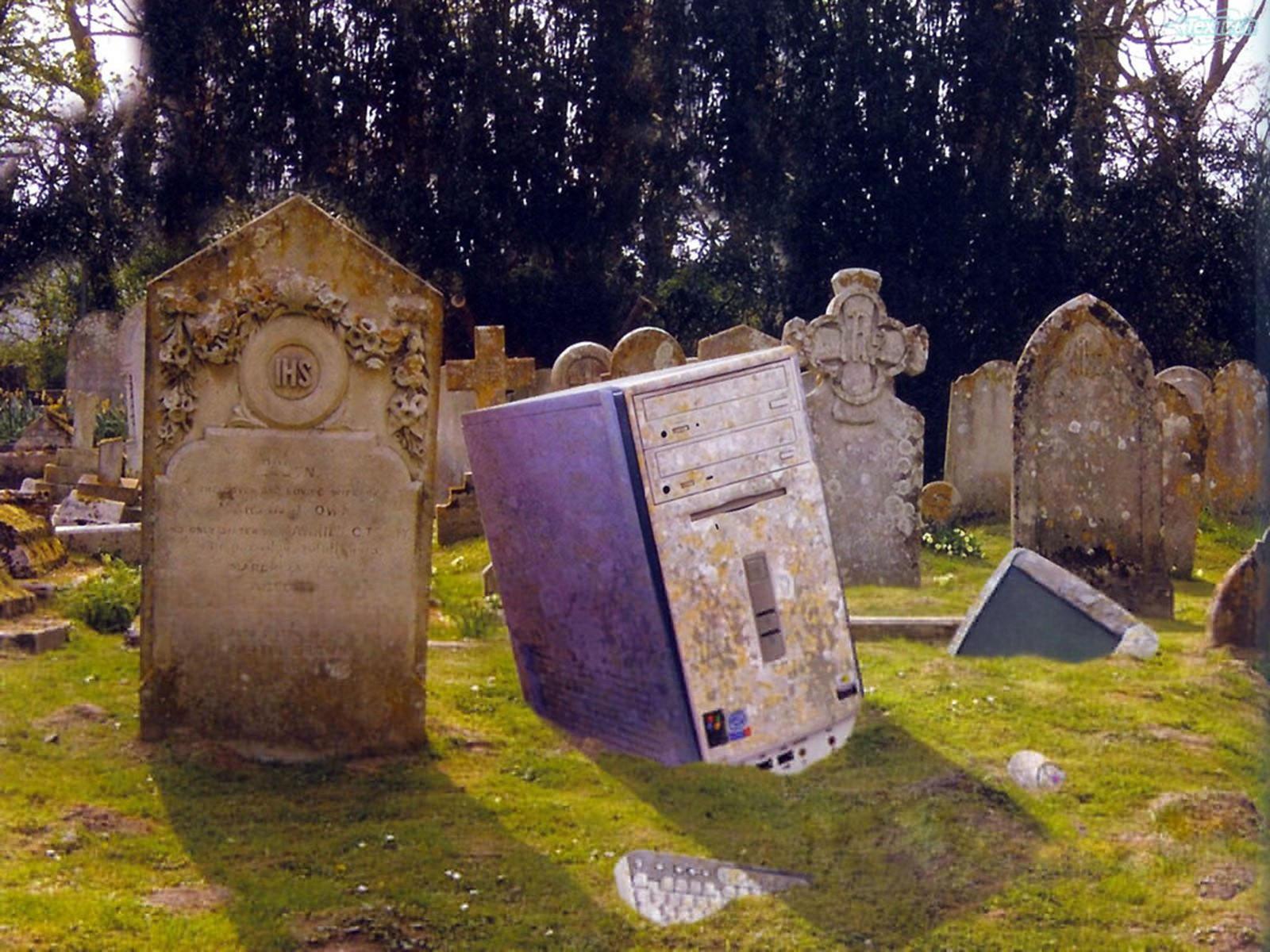 Надгробие в виде системника