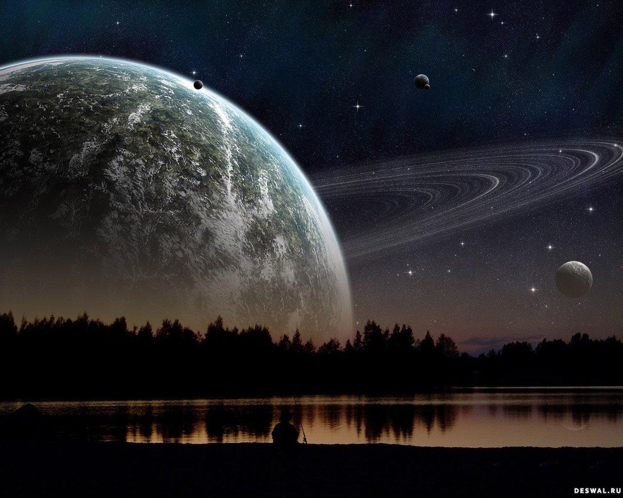 Фото 8.. Нажмите на картинку с обоями космоса, чтобы просмотреть ее в реальном размере