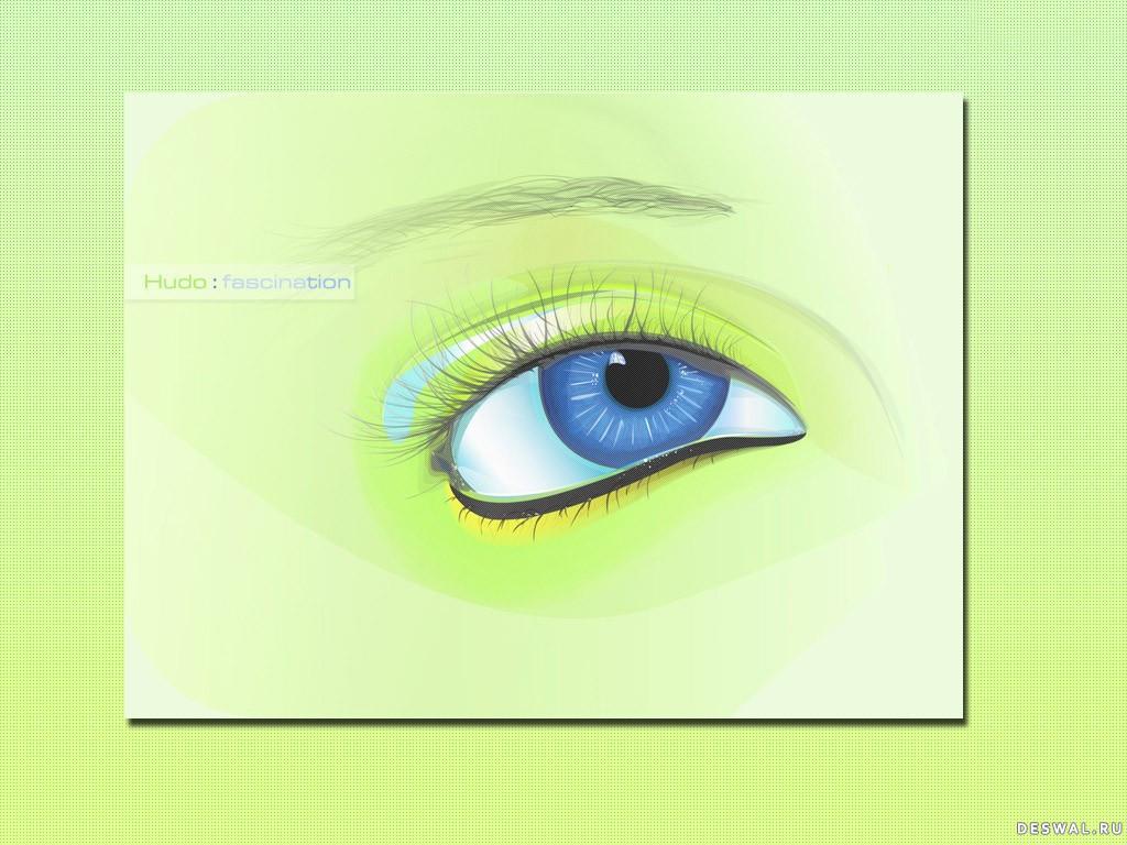 Фото 14.. Нажмите на картинку с обоями глаз, чтобы просмотреть ее в реальном размере